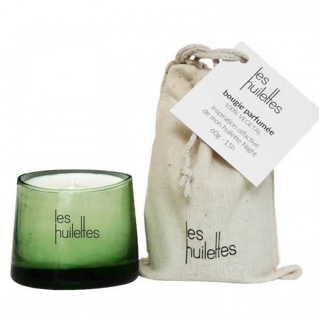 The relaxing Candle by Les Huilettes
